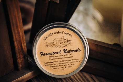 Muscle Relief Salve