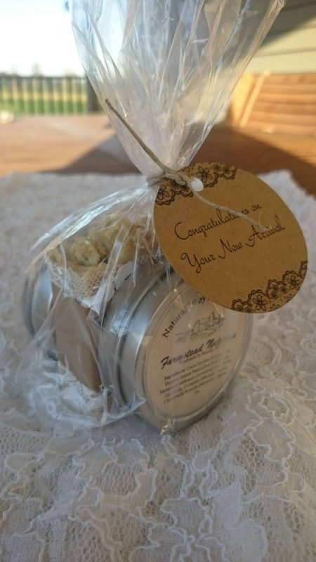 New Mom and Baby Gift By Farmstead Naturals Handcrafted Natural Soaps and Salves Bath & Beauty Products
