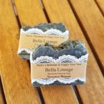 Handmade Charcoal Soap Favours Bella Lounge By Farmstead Naturals Handcrafted Natural Soaps and Salves Bath & Beauty Products