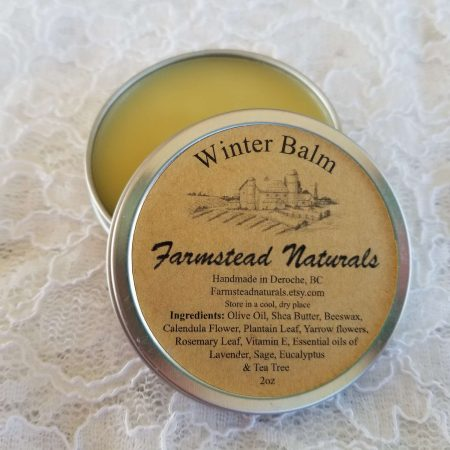 Winter Balm By Farmstead Naturals Handcrafted Natural Soaps and Salves Bath & Beauty Products