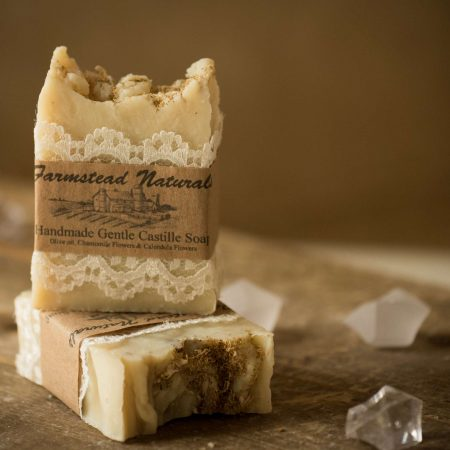 Handmade Gentle Castille Soap By Farmstead Naturals Handcrafted Natural Soaps and Salves Bath & Beauty Products