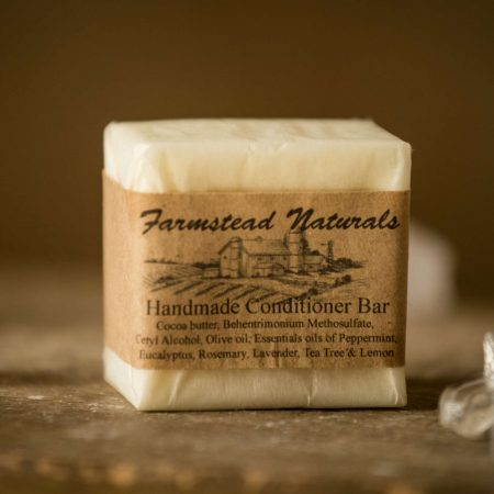Conditioner Bar By Farmstead Naturals Handcrafted Natural Soaps and Salves Bath & Beauty Products