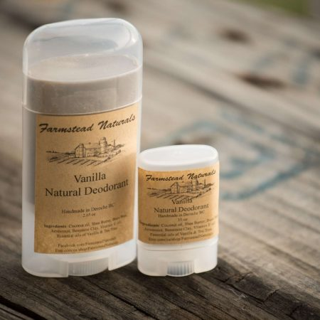 Natural Deodorant By Farmstead Naturals Handcrafted Natural Soaps and Salves Bath & Beauty Products