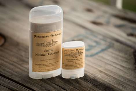 Natural Deodorant By Farmstead Naturals