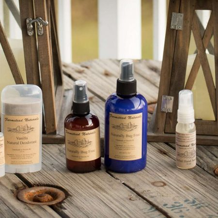 Natural Herbal Hand Sanitizer By Farmstead Naturals Handcrafted Natural Soaps and Salves Bath & Beauty Products