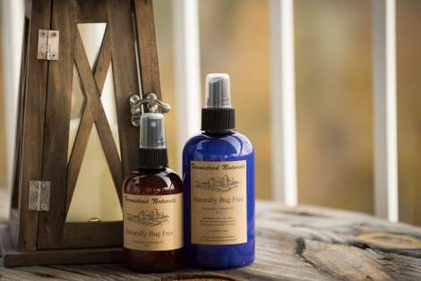 Naturally Bug Free Handmade Spray By Farmstead Naturals Handcrafted Natural Soaps and Salves Bath & Beauty Products