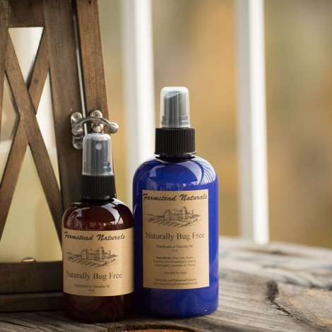 Naturally Bug Free Handmade Spray By Farmstead Naturals