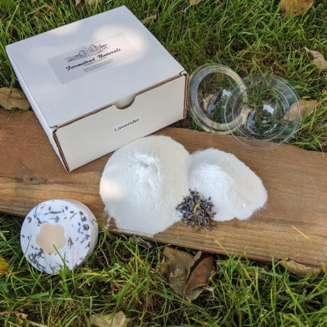 DIY Bath Bomb Kit Auction (Lavender) by Farmstead Naturals Handcrafted Natural Soaps and Salves Bath & Beauty Products