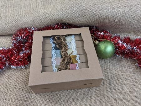 Soap Sampler Box Auction by Farmstead Naturals Handcrafted Natural Soaps and Salves Bath & Beauty Products